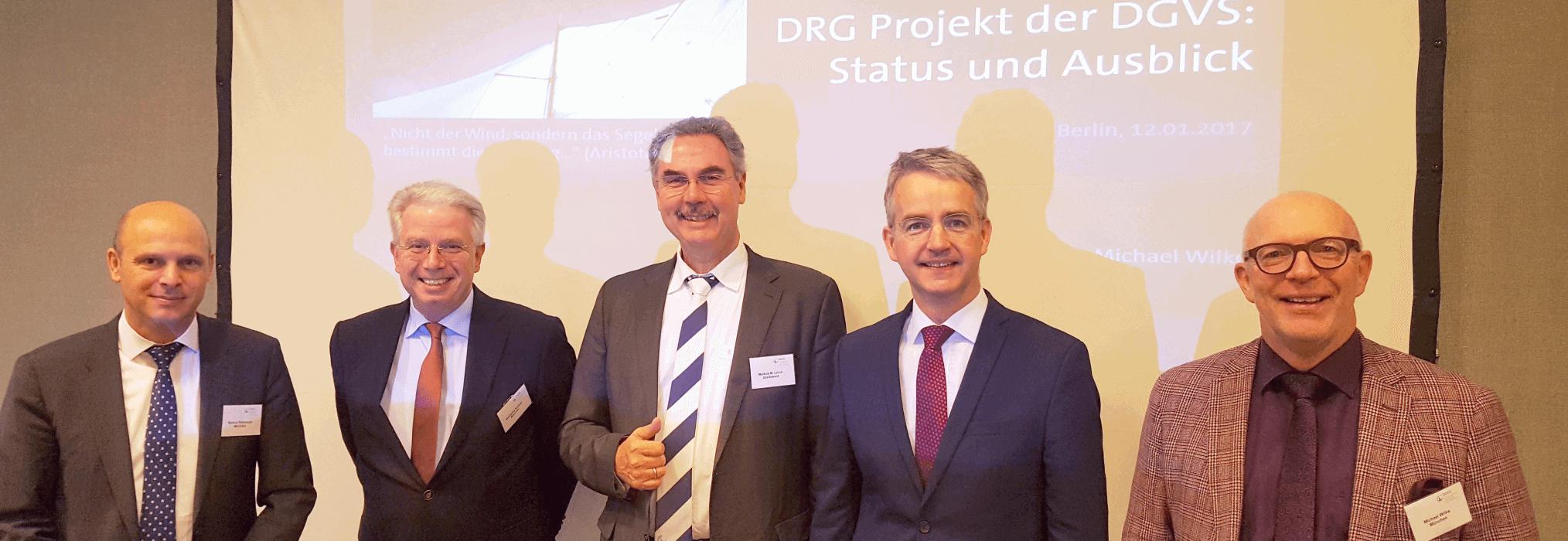 DRG Leitungsteam der DGVS 2017